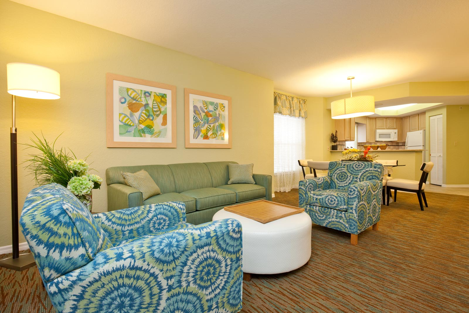Inside one of our Orlando Resort Suites in Kissimmee, Florida